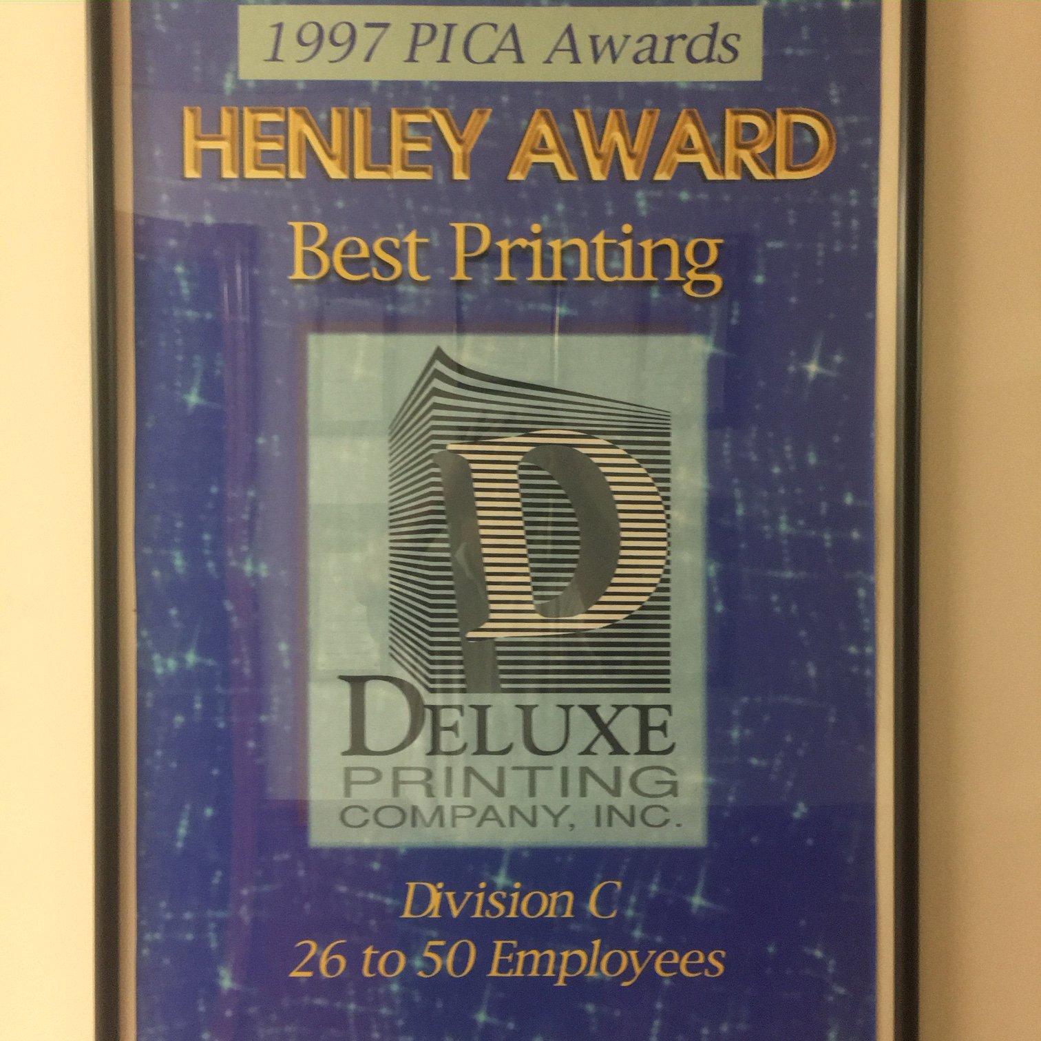 1997 Best Printing